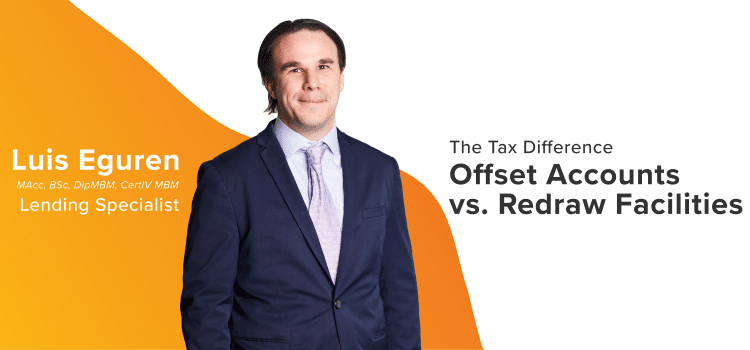 The Tax Difference Header Graphic. A discussion on offset vs redraw. Offset accounts and redraw facilities.